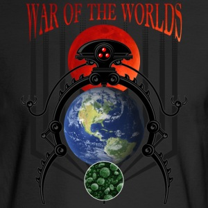 War of the Worlds Martian Spacecraft - Men's Long Sleeve T-Shirt