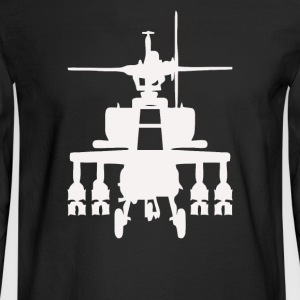 Attack Helicopter - Men's Long Sleeve T-Shirt