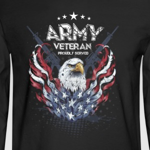 Army_Veteran - Men's Long Sleeve T-Shirt