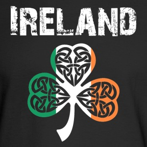 Nation-Design Ireland Shamrock - Men's Long Sleeve T-Shirt