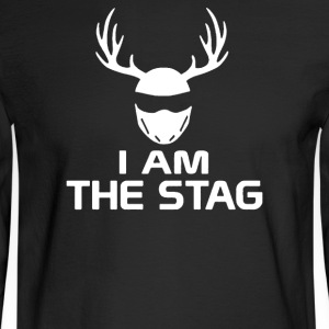I Am The Stag Stag Night Hen Wedding - Men's Long Sleeve T-Shirt