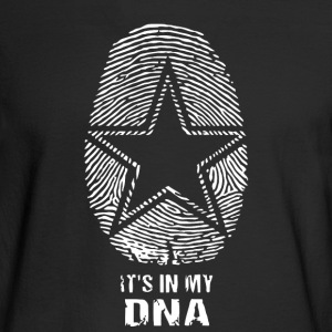 Cowboy In My DNA Tshirt - Men's Long Sleeve T-Shirt