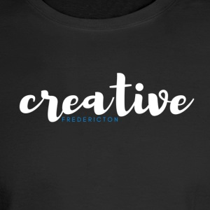 Creative Fredericton LIGHT on DARK merchandise - Men's Long Sleeve T-Shirt