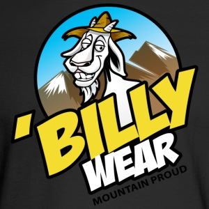 'Billy Wear brand logo - Men's Long Sleeve T-Shirt