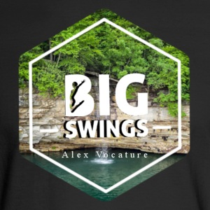 Big Swings | Alex Vocature Signature Gear - Men's Long Sleeve T-Shirt
