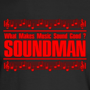 good soundman red - Men's Long Sleeve T-Shirt