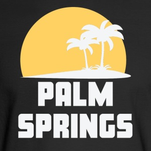 Palm Springs California Sunset Palm Trees Beach - Men's Long Sleeve T-Shirt