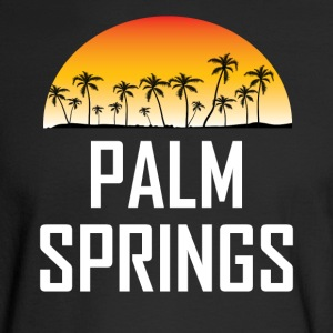Palm Springs Sunset And Palm Trees Beach - Men's Long Sleeve T-Shirt