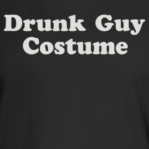 Drunk Guy Costume - Men's Long Sleeve T-Shirt