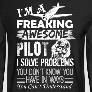 Pilot Shirt - Men's Long Sleeve T-Shirt