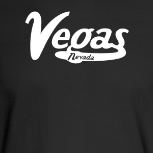 Las Vegas Nevada Vintage Logo - Men's Long Sleeve T-Shirt