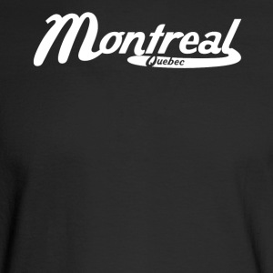 Montreal Quebec Canada Vintage Logo - Men's Long Sleeve T-Shirt