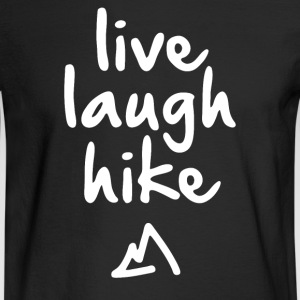 Live Laugh Hike - Men's Long Sleeve T-Shirt