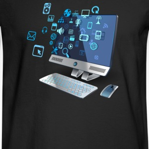 Computer - Men's Long Sleeve T-Shirt