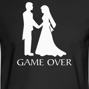 Game Over Wedding - Men's Long Sleeve T-Shirt