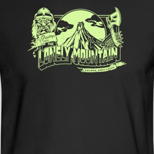 the lonely mountain - Men's Long Sleeve T-Shirt