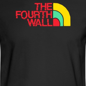 The fourth wall - Men's Long Sleeve T-Shirt