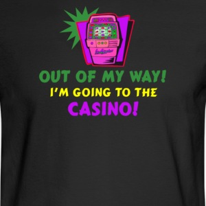 out of my way casino - Men's Long Sleeve T-Shirt