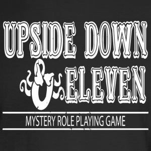 Upside Down and Eleven - Men's Long Sleeve T-Shirt