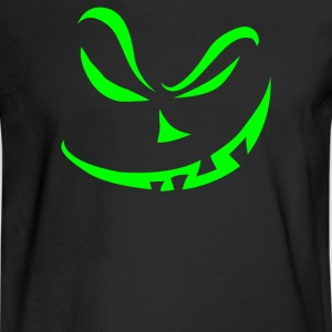 Scary Pumpkin Halloween - Men's Long Sleeve T-Shirt