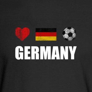 Germany Football German Soccer T-shirt - Men's Long Sleeve T-Shirt