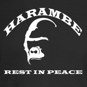 HARAMBE_RIP - Men's Long Sleeve T-Shirt