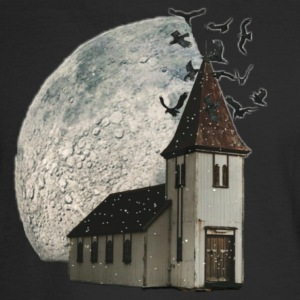 House with moon - Men's Long Sleeve T-Shirt