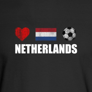 Netherlands Football Netherlander or Dutch Soccer - Men's Long Sleeve T-Shirt