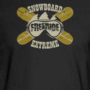 Snowboard freeride extreme - Men's Long Sleeve T-Shirt