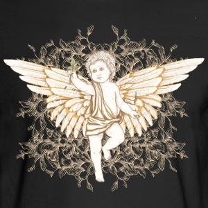 Vintage angel with wings - Men's Long Sleeve T-Shirt