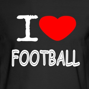I LOVE FOOTBALL - Men's Long Sleeve T-Shirt