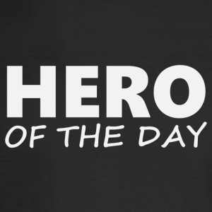 Hero of the day 2 (2203) - Men's Long Sleeve T-Shirt