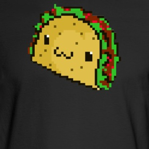 Pixel Taco - Men's Long Sleeve T-Shirt
