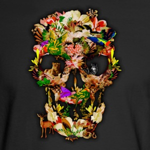 Animal Kingdom Sugar Skull - Men's Long Sleeve T-Shirt