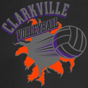 CLARKVILLE VOLLEYBALL - Men's Long Sleeve T-Shirt