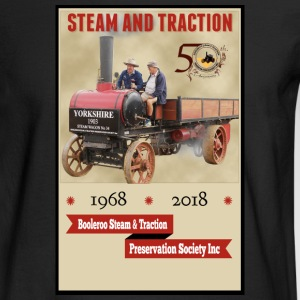 Booleroo Steam & Traction - Men's Long Sleeve T-Shirt