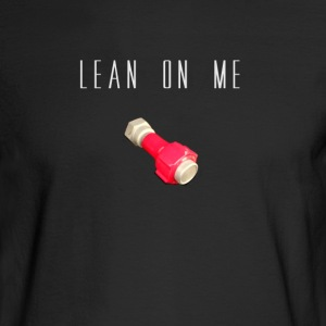 LEAN ON ME CESSNA - Men's Long Sleeve T-Shirt
