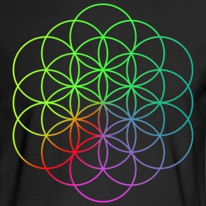 Coldplay Flower of Life - Men's Long Sleeve T-Shirt