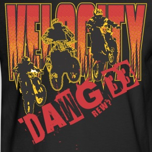 Welocity motocycle band - Men's Long Sleeve T-Shirt