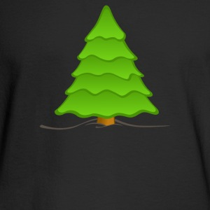 Christmas Nature Picture - Men's Long Sleeve T-Shirt