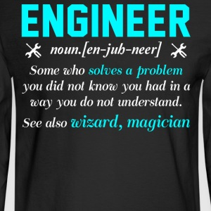 Engineer T Shirt - Men's Long Sleeve T-Shirt