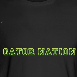 Gator_Nation - Yellow - Green - Men's Long Sleeve T-Shirt