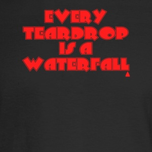 Coldplay Every teardrop is a waterfall - Men's Long Sleeve T-Shirt