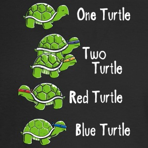 One Turtle Two Turtle - Men's Long Sleeve T-Shirt