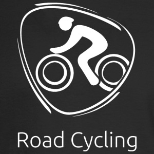 Road_cycling_white - Men's Long Sleeve T-Shirt