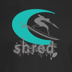 FIT - Shred. Surf logo. - Men's Long Sleeve T-Shirt