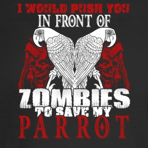 Save My Parrot Shirt - Men's Long Sleeve T-Shirt
