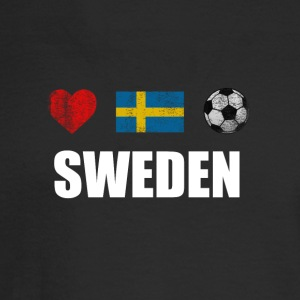 Sweden Football Swedish Soccer T-shirt - Men's Long Sleeve T-Shirt