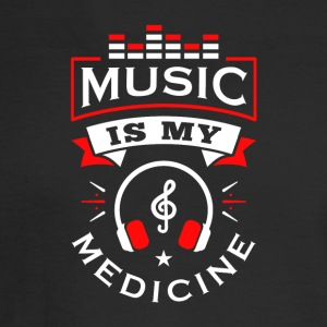 Music Is My Medicine - Men's Long Sleeve T-Shirt