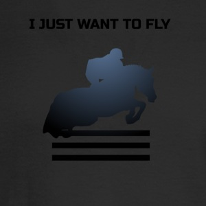 WANT TO FLY - Men's Long Sleeve T-Shirt
